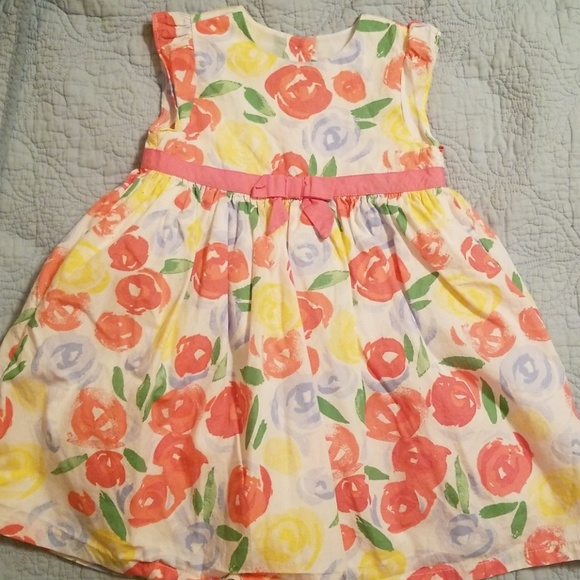 cc00bb8fd7d Baby   Toddler Clothing NWT Gymboree EMERALD PARTY Girls Size 4T 5T Green  Floral Print Dress ...